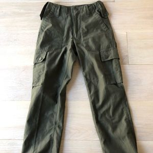 Urban Outfitters green cargo pants